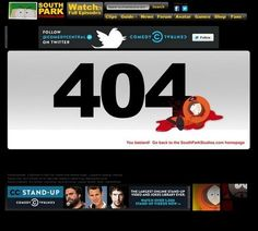 30 Best 404 Error Page Examples