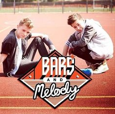 Bars and Melody.  Charlie (Left) and Leondre (Right).
