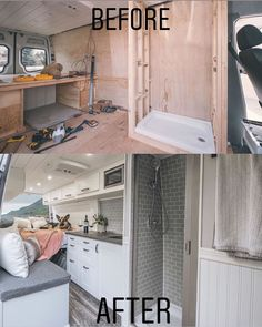 Go look at our web page for far more on the subject of this fantastic van life sprinter Van Conversion Interior, Camper Van Conversion Diy, Van Interior, Van Conversion With Bathroom, Sprinter Van Conversion, Bus Living, Tiny House Living, Bus Camper, Camper Life