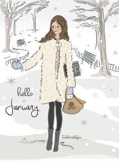 ❧ Les mois de l'année  ❧design by Heather Stillufsen