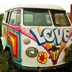 Hippie van:)