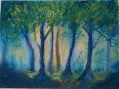 Impressionismo - soft pastel - 8th grade