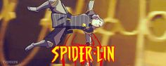 Avatar Heroes: Spider-Lin #Lin #Beifong
