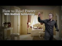 How To Read Poetry - speaking and listening standards