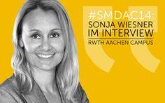 SMDAC14 | Sonja Wiesner – RWTH Aachen Campus #socialmedia #socialmediamarketing #blog #aachen #website #facebook