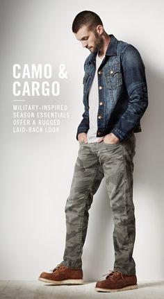 Military - Men's Camo Cargo Pants & Camo Cargo Shorts