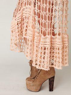 Crochet: Skirt