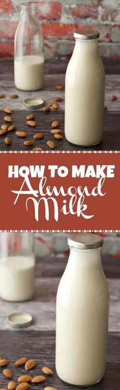 How To Make Almond Milk. Vegan and Gluten-Free. Vegan Recipes | Vegan Breakfast | Vegan Food | Gluten-Free Vegan
