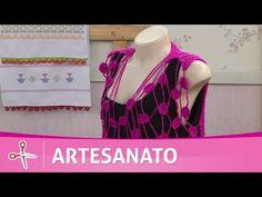 Vida com Arte | Colete Rebeca por por Vitória Quintal - 03 de Fevereiro de 2017 - YouTube