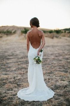 Our beautiful bride Jessie wore the backless Poipu Gown from the Katie May Collection at her gorgeous rustic wedding Beautiful Image by Heidi Vail Photography Sister Wedding, Dream Wedding, Wedding Day, Wedding 2017, Rustic Wedding, Beach Wedding Attire, Wedding Gowns, Wedding Pinterest, Beautiful Bride