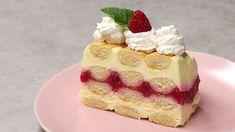 VIDEORECEPT: Nepečený pudingový dezert s malinami Portobello, Bruschetta, Vanilla Cake, Nutella, Waffles, Cheesecake, Eat, Breakfast, Recipes