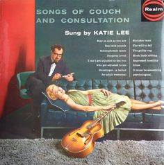 Katie Lee - Songs of Couch and Consultation (1958)