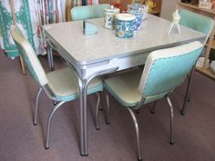 Route 66 Dining Set Kitchen sets Retro and Kitchens
