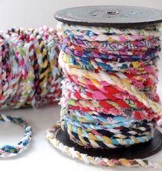 Moi Je Fais » Tout faire en DIY – Do It YourselfDIY Fil de tissu recyclé - Moi…