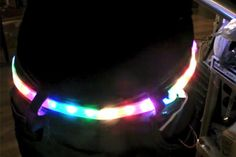 Digital programmable LED belt kit from the awesome people at Adafruit