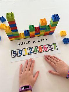 Preschool Learning Activities, Preschool Classroom, Kindergarten Math, Classroom Activities, Teaching Math, Preschool Activities, Kids Learning, Numbers Preschool, Early Math