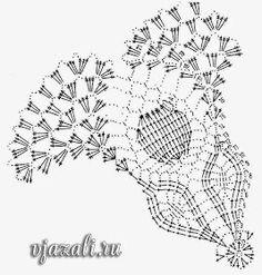 centrino tondo con coccinelle | Hobby lavori femminili - ricamo - uncinetto - maglia