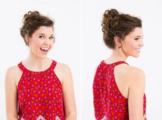 23 Office-Appropriate Hairstyles That Take No Time at All via Brit + Co
