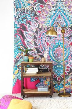 Magical Thinking Paisley Floral Tapestry #urbanoutfitters