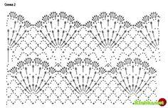 Free summer crochet dress pattern with tube top. Crochet Stitches Patterns, Doily Patterns, Knitting Stitches, Crochet Designs, Stitch Patterns, Crochet Bikini Pattern, Crochet Diagram, Crochet Chart, Crochet Motif