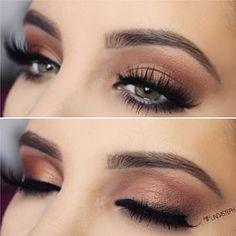 Gorgeous Makeup: Tips and Tricks With Eye Makeup and Eyeshadow – Makeup Design Ideas Gorgeous Makeup, Love Makeup, Makeup Inspo, Casual Eye Makeup, Elegant Makeup, Red Makeup, Makeup Style, Beauty Make-up, Beauty Hacks