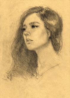 Portrait Sketch on Behance by Andhika Nugraha