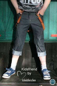 Jeans, Hose, Nähen, Schnitt, Schnittmuster, Kinderhose, Kids