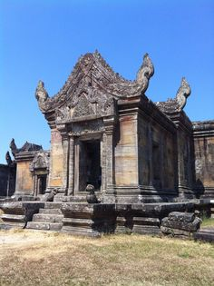 UNESCO World Heritage Site                                  Preah Vihear  Temple, THAIi-CAMBODIAN BORDER