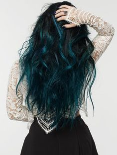 Excellent Photo Dyed Hair dark Thoughts Are your beginnings providing the overa. - Excellent Photo Dyed Hair dark Thoughts Are your beginnings providing the overall game apart which - Hair Color Dark Blue, Cool Hair Color, Dark Hair, Amazing Hair Color, Color Blue, Dark Green Hair, Hair Dye Colors, Dye My Hair, Cool Hair Dyed