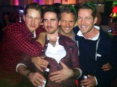Colin - O'Donoghue - Josh Dallas - Michael Raymond-James - Sean Maguire