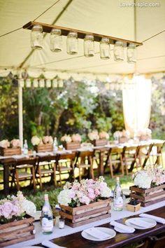 décoration mariage, wedding, centerpiece, centre de table, jars wood bois centre de table centerpiece