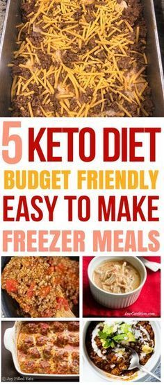 These KETO recipes are THE BEST for my weight loss journey. I'm so glad I found these keto freezer meals that will help me lose weight and stick to my budget. Keto Dinner Recipes for Rapid Weight Loss Vegan Keto, Dieta Vegan, Paleo Diet, Keto Diet Meals, Best Keto Meals, Keto Nutrition, Dukan Diet, Paleo Food, Veggie Food