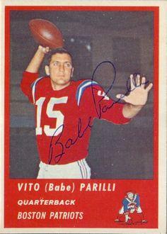 Qb Babe Parilli