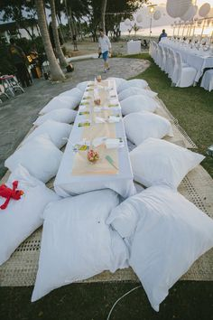 Sofitel Fiji wedding - Kids Table - Finau Photography