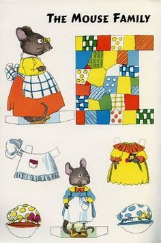 Jack and Jill Magazine, January, 1959 (Mouse Family Paper Dolls) • $3.99 - PicClick