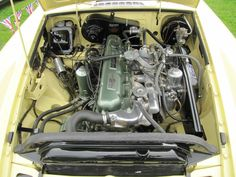 1968 MGC Roadster engine