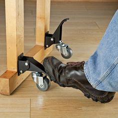 Rockler Workbench Caster Kit, 4 Pack - Bench Castor Wheels - Amazon.com
