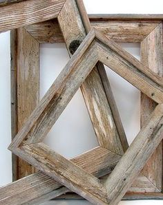 barnwood frames - add narrow baseboard to the frames I make for added height/interest/texture