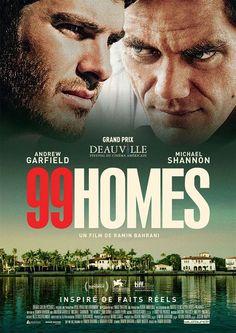 Critique de 99 Homes avec Michael Shannon et Andrew Garfield disponible en VOD ECinema dès le 18 mars 2016 via Wild Bunch