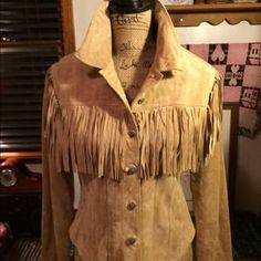 I just discovered this while shopping on Poshmark: NWOTS/J MARCO/ SUEDE WESTERN STYLE JACKET. Check it out!  Size: S