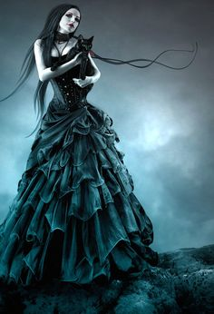 Omg,  it's the Fallen dress on the cover of the book! Halloween one day...