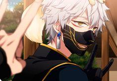 Anime Boys, Hot Anime Boy, Cute Anime Guys, Male Character, Character Prompts, Fanarts Anime, Anime Characters, Touken Ranbu Nakigitsune, Manga