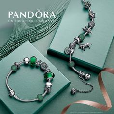 Make room on your bacelets, ladies! Pandora's new Enchanted Autumn collection has arrived at Mykonos! Do you prefer the Murano glass beads or the openwork charms?