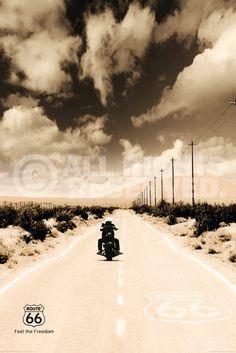 ROUTE 66 - biker