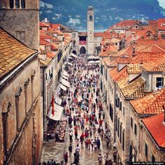 Living in Croatia is winning a lottery, at least Huffington Post says so. The picture shows Dubrovnik Old Town,Croatia. http://www.huffingtonpost.com/2014/05/29/croatia-summer-travel-spots_n_5365770.html?ncid=fcbklnkushpmg00000063