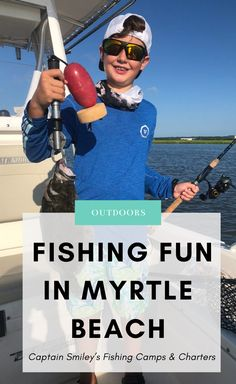 Looking for a fun outdoor experience in Myrtle Beach? Go fishing in North Myrtle Beach!! You can charter a fishing excursion year-round with Captain Smiley. While summertime is the busiest time of year, fishing the inshore waters in and around North Myrtle Beach and Little River is a year-round event. Myrtle Beach Fishing, Myrtle Beach State Park, North Myrtle Beach, Myrtle Beach Things To Do, Buy A Boat, Little River, Fishing Charters, Going Fishing, Outdoor Fun