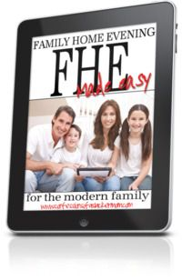 FHE Made Easy - Free tablet-friendly lesson plans. Or just print and you're ready to go! Week 4 - Tree of Life