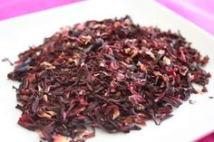 Hibiscus Ginger Simple Syrup