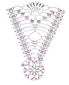 Popisy jsou jednoduché, musí s - Her Crochet Crochet Doily Diagram, Crochet Doily Patterns, Thread Crochet, Crochet Motif, Crochet Doilies, Crochet Stitches, Crochet Christmas Decorations, Crochet Decoration, Crochet Ornaments