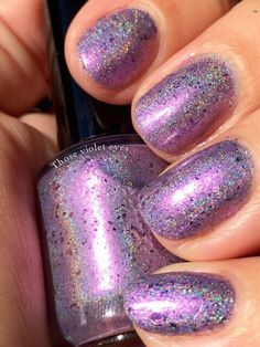 LilypadLacquer Those Violet Eyes (from the Always a Lady collection). Released in July 2015.